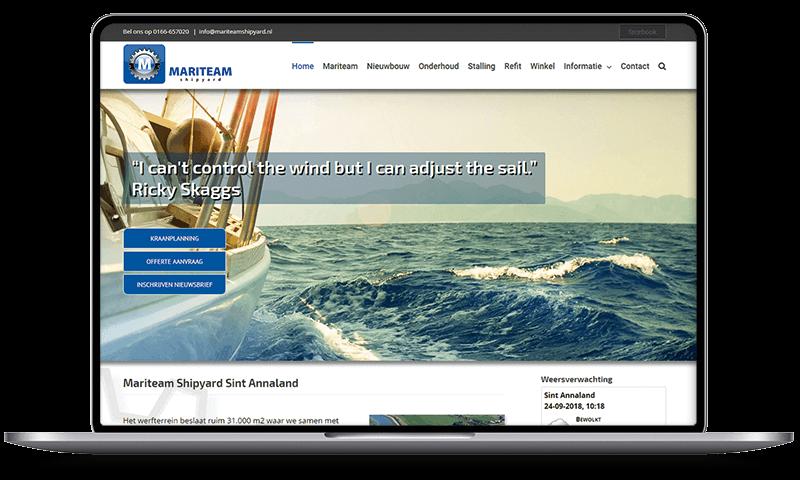 Mariteam Shipyard, Sint Annaland | Multimediafabriek