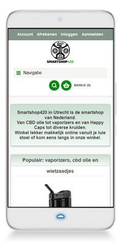 Smartshop 420, Utrecht | Multimediafabriek