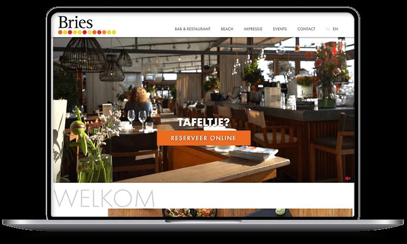 Beachclub Bries, Noordwijk | Multimediafabriek