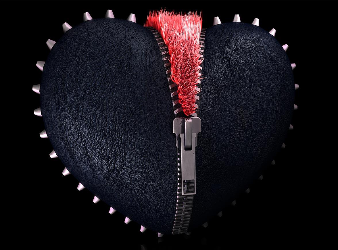 3D render - leather fluffed | Multimediafabriek