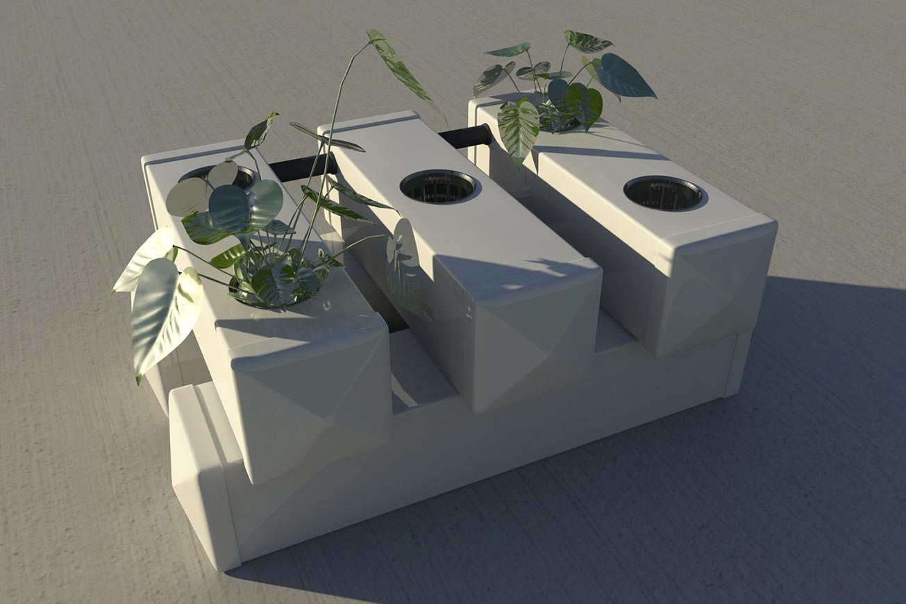 3D render - Dutch Hydroponics | Multimediafabriek