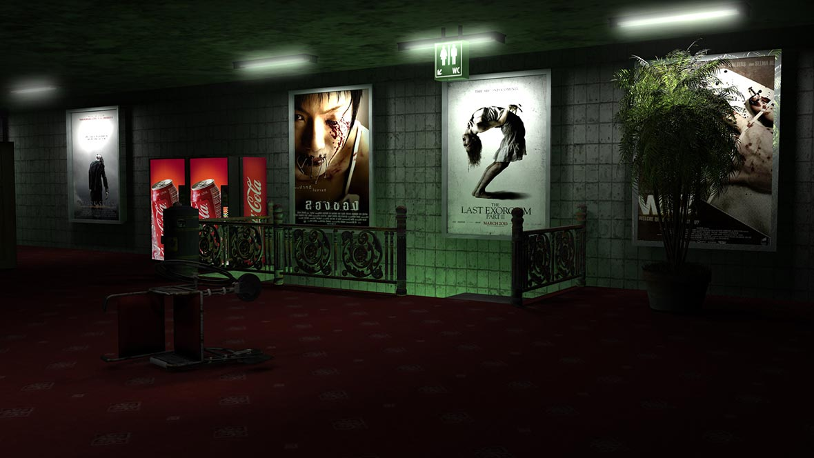 3D render - Amsterdam Film Festival | Multimediafabriek