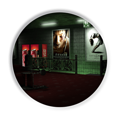 3D render - Amsterdam Film Festival | Multimediafabriek