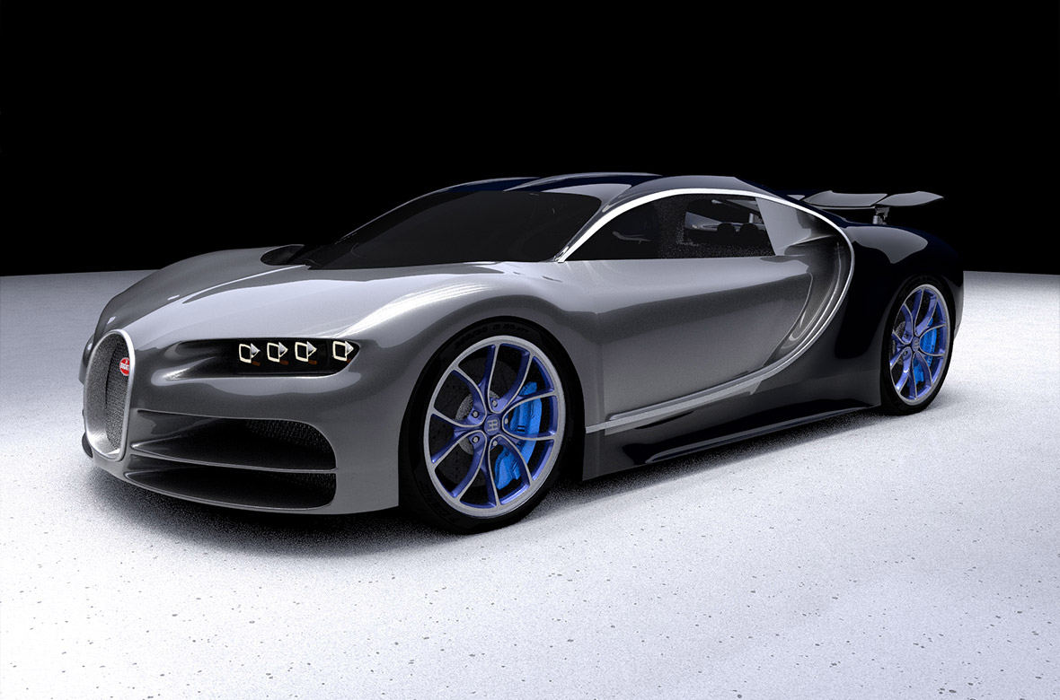 Supercar Bugatti Chiron | Multimediafabriek