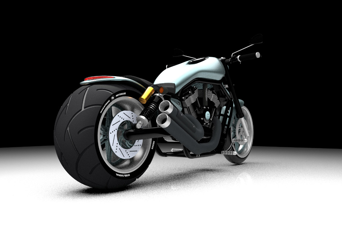 3D model maart 2019 | Harley Davidson Night Rod