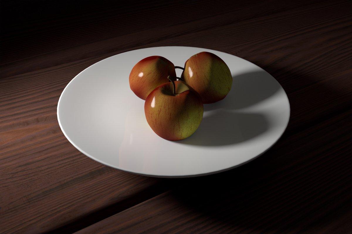 Final beauty render appels | Multimediafabriek