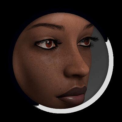 Photorealistic Face | Multimediafabriek